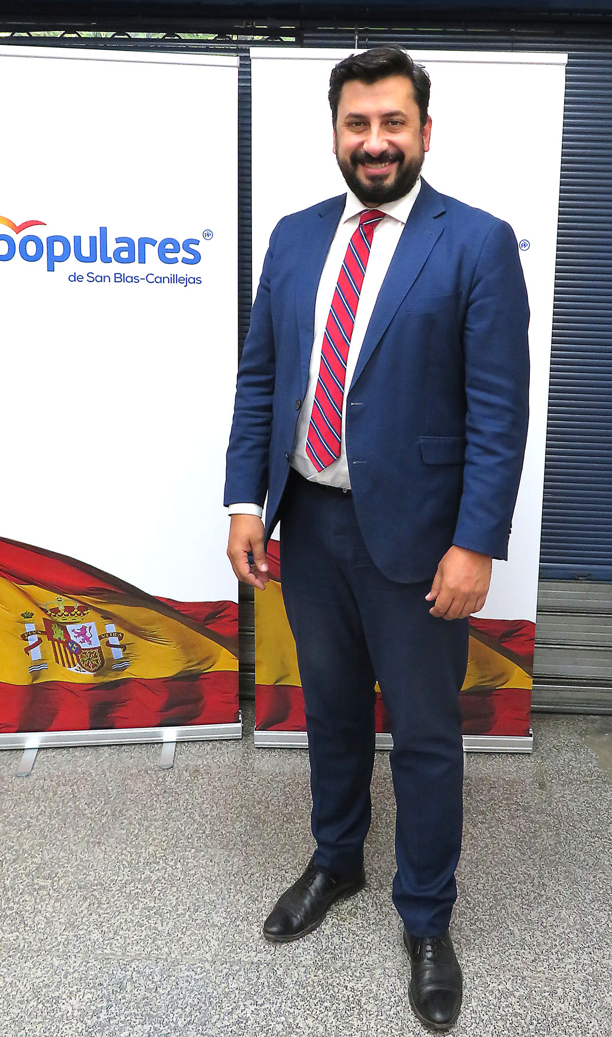 Carlos Diaz Pache presidente PP San Blas Canillejas