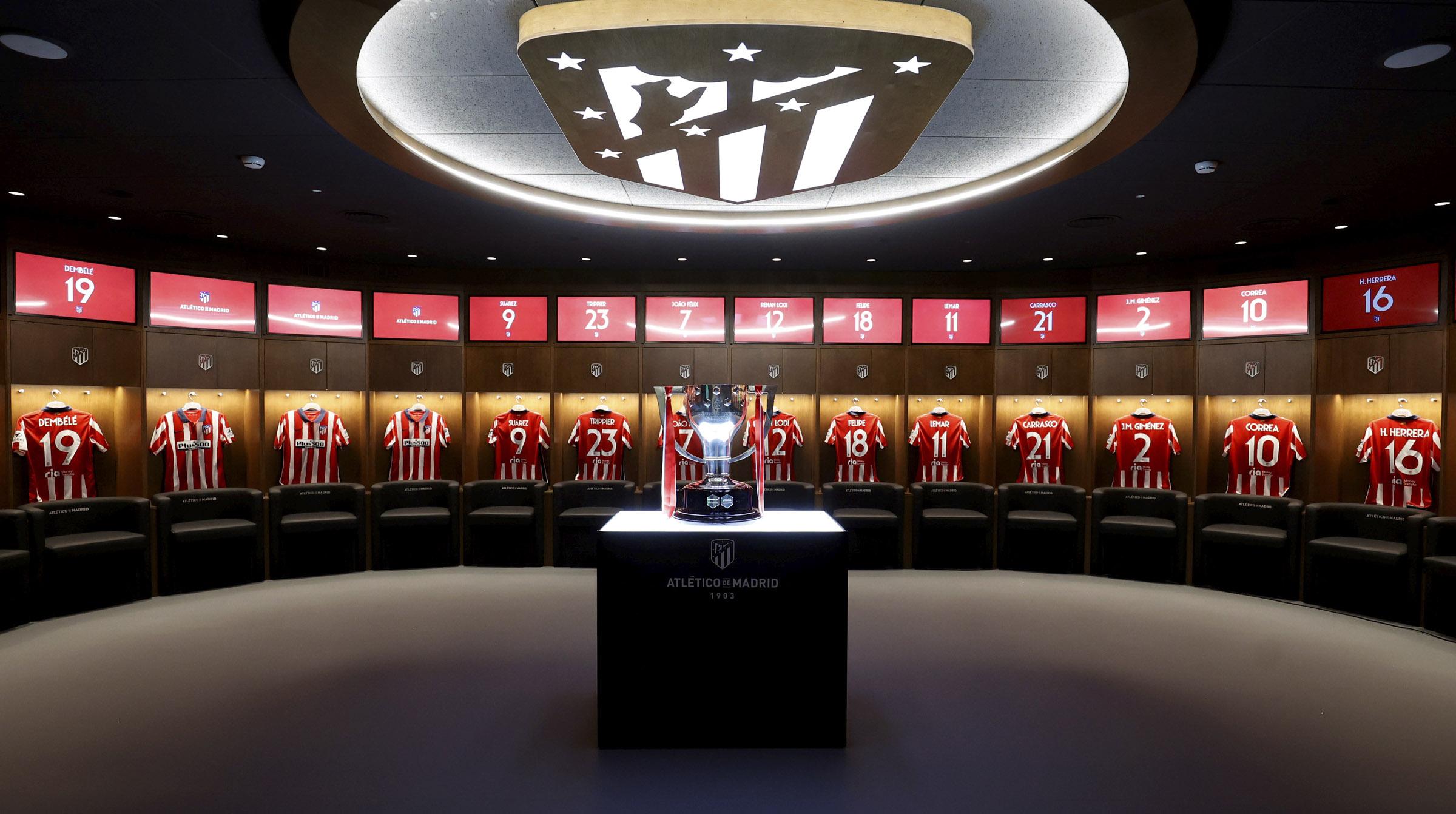 copa vestuario trofeo Liga ok