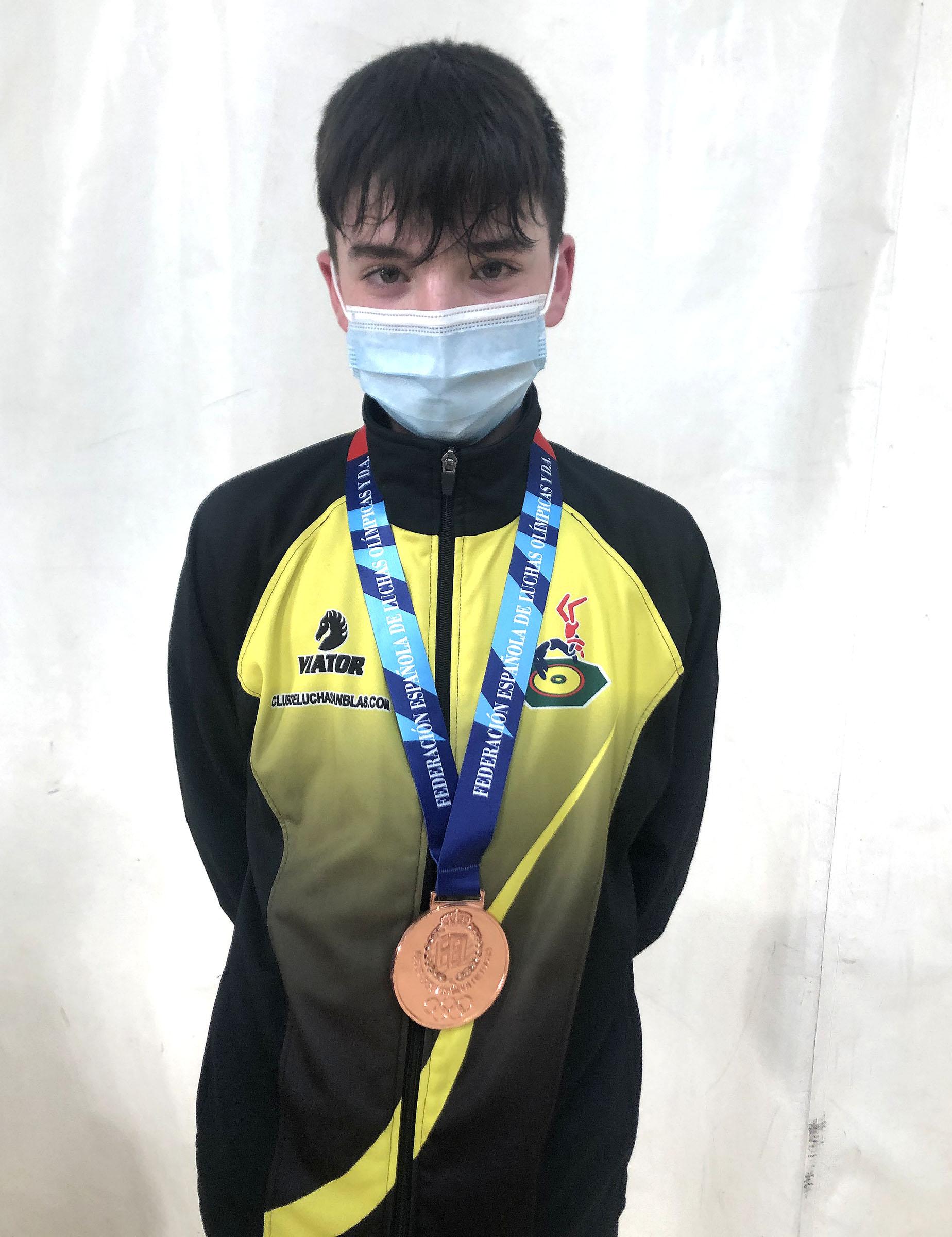 lucha Jose Luis Poyatos campeonato de espana