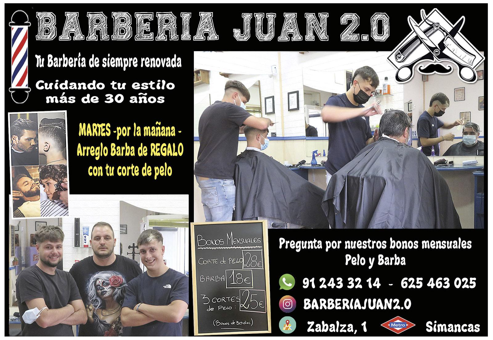 Barbería Juan 2.0