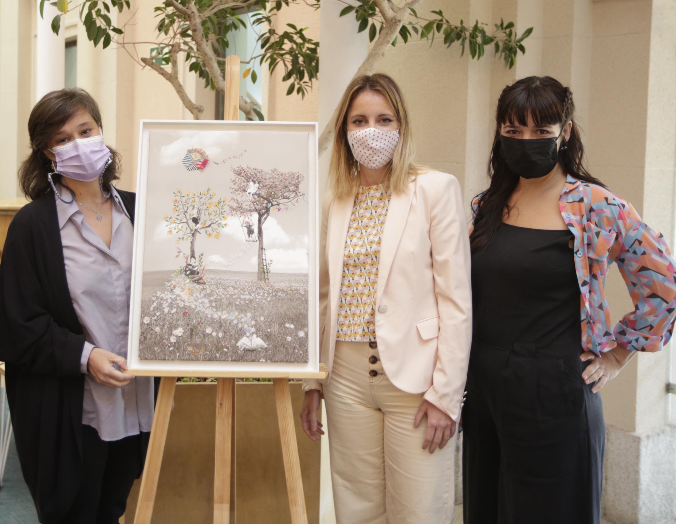 Beatriz de Torres, Andrea Levy y Lorena Olmedo