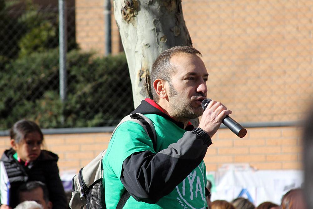 Alberto Arkones Pelaz, promotor de la Carrera por la Educación.