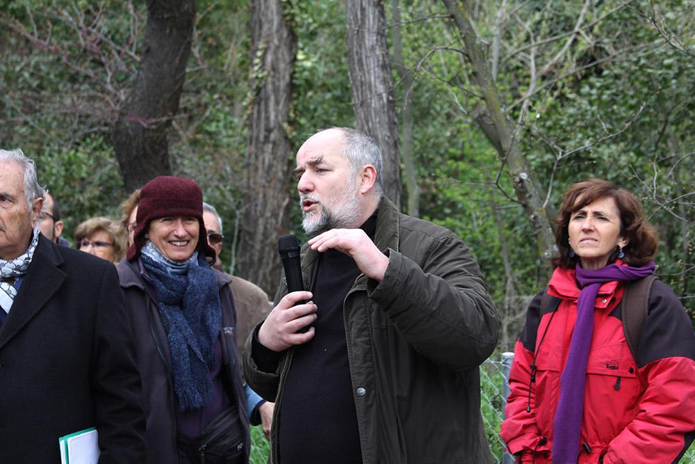 Adrian Woods es miembro fundador de la Plataforma Quinta de Torre Arias (PQTA)