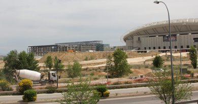 del estadio Wanda Metropolitano