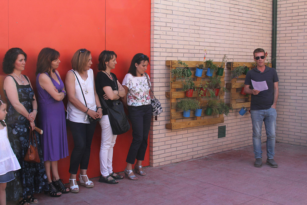 El IES Alfredo Kraus inaugura un huerto en homenaje a Berta Cáceres