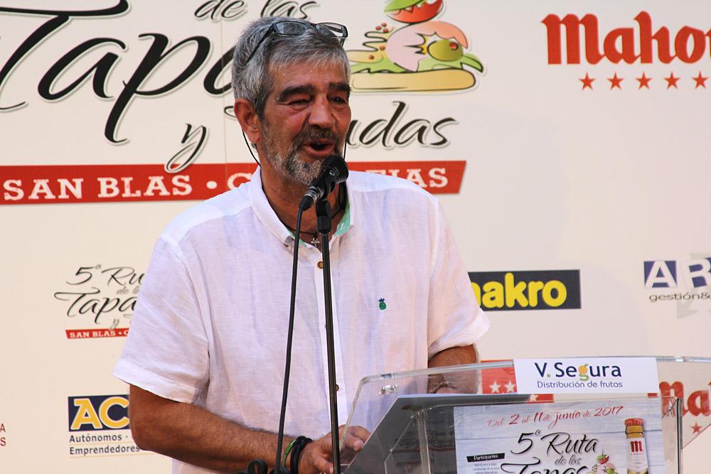 5ª Ruta de la Tapa y Tiendas de San Blas-Canillejas. José Rubio