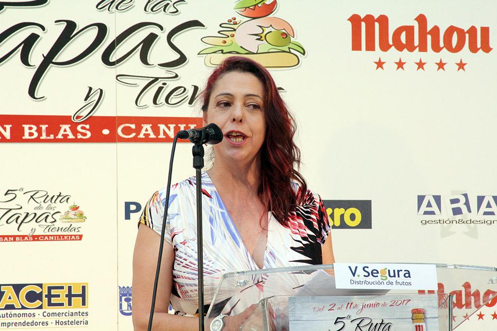 5ª Ruta de la Tapa y Tiendas de San Blas-Canillejas. Ana Rojo