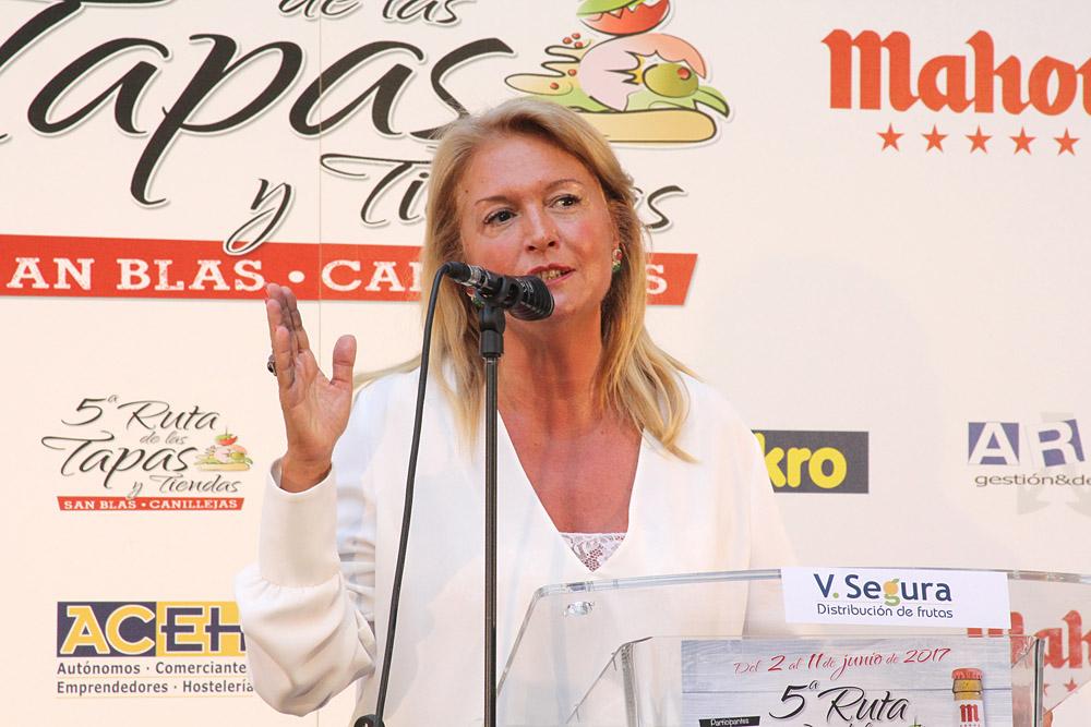 5ª Ruta de la Tapa y Tiendas de San Blas-Canillejas. María José Pérez-Cejuela
