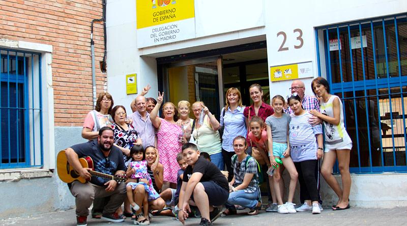 Queda oficialmente inaugurado el Espacio Social de La Chimenea (Calle San Faustino, 23) en la Villa de Canillejas.