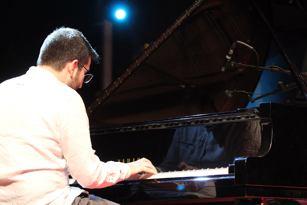 San Jazz llenó el auditorio en las noches de San Juan - Bernat Font Trío