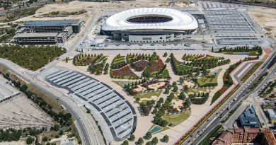 Proyecto de ajardinamiento en el entorno del Metropolitano