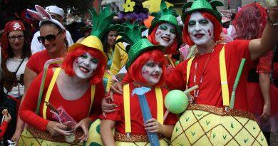El Carnaval del distrito se celebra en el auditorio del parque Paraíso