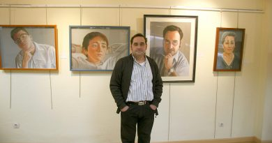Roberto Martín expone en el Centro Cultural Antonio Machado