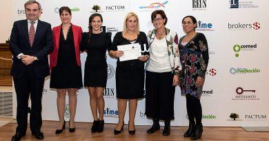 Premio AMMI 2018 a la Labor Institucional en Mediación en la Comunidad de Madrid