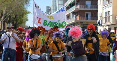 El Carnaval infantil celebrado en Canillejas