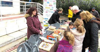 El Día del Libro lo organizó la Mesa de Cultura