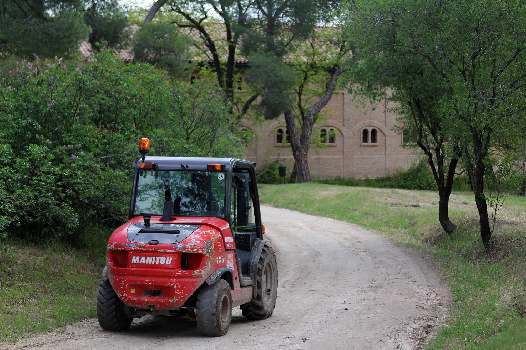La Quinta de Torre Arias - tractor