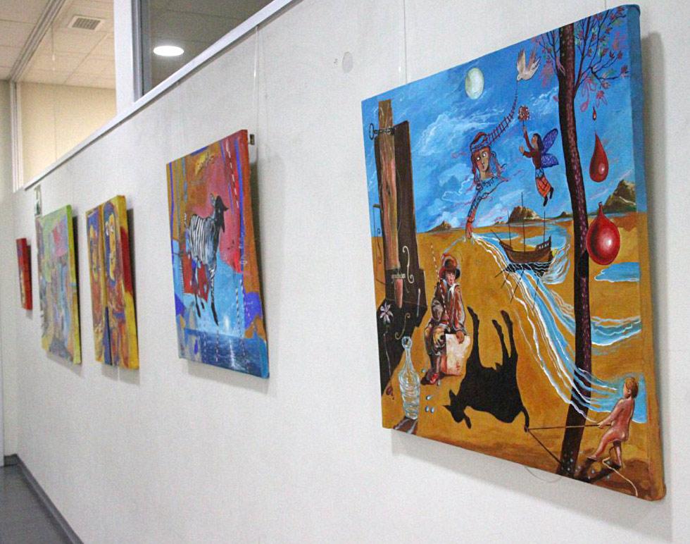 El artista plástico Luis Franco presenta una colección de cerca de 45 obras que podrá disfrutarse hasta el próximo mes de enero