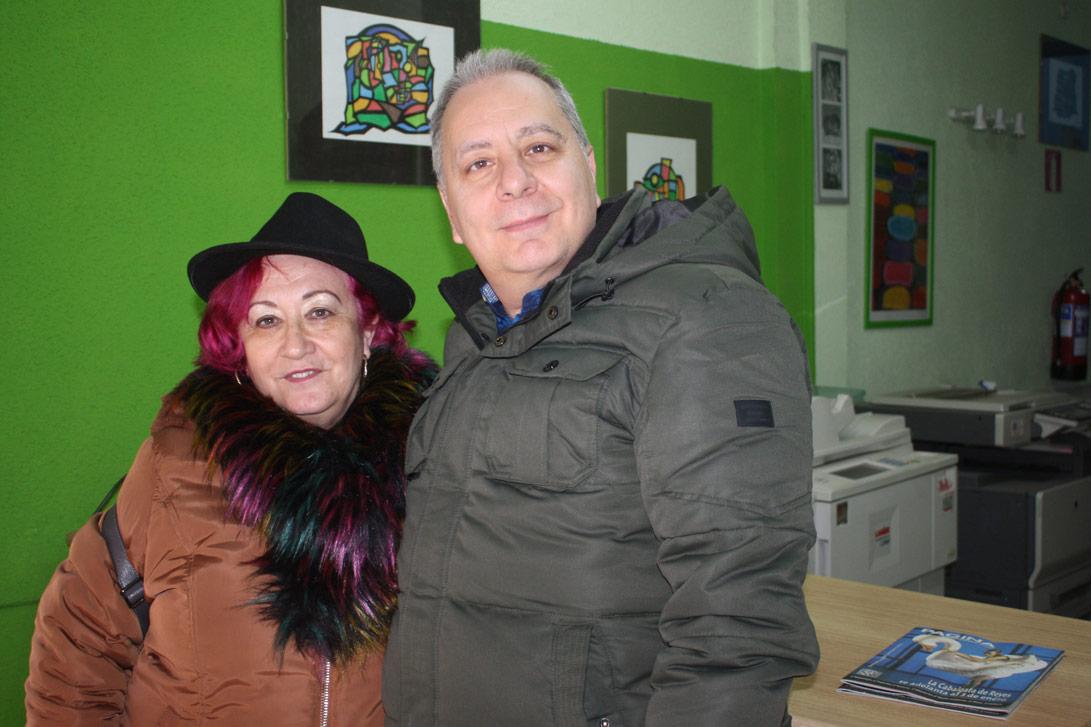 Paloma López y Francisco Peña