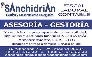 ASESORIA SANCHIDRIAN