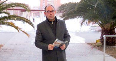 Carlos Matilla portavoz PSOE en San Blas Canillejas