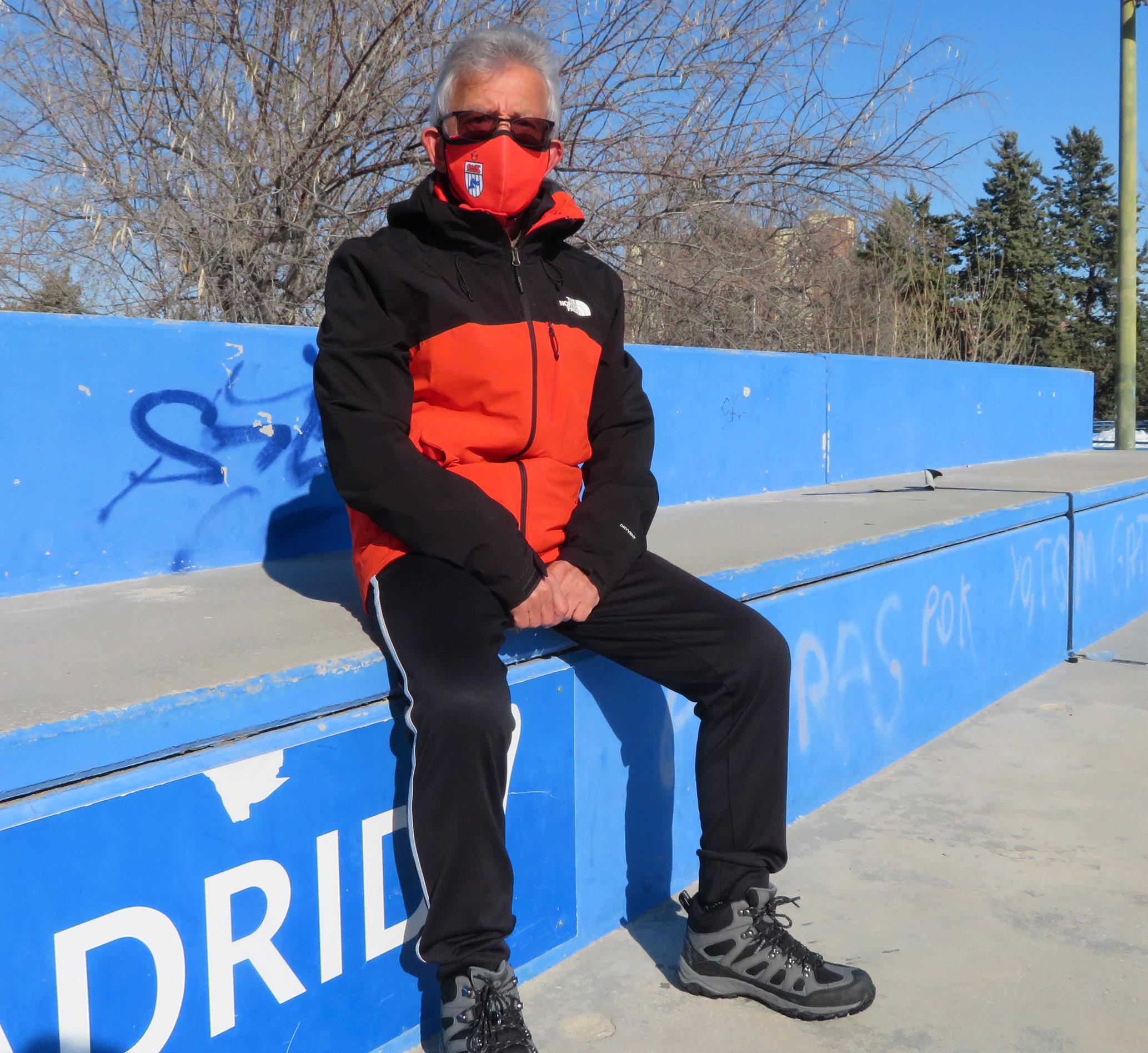 Isidro Rodriguez presidente Atletismo Suanzes