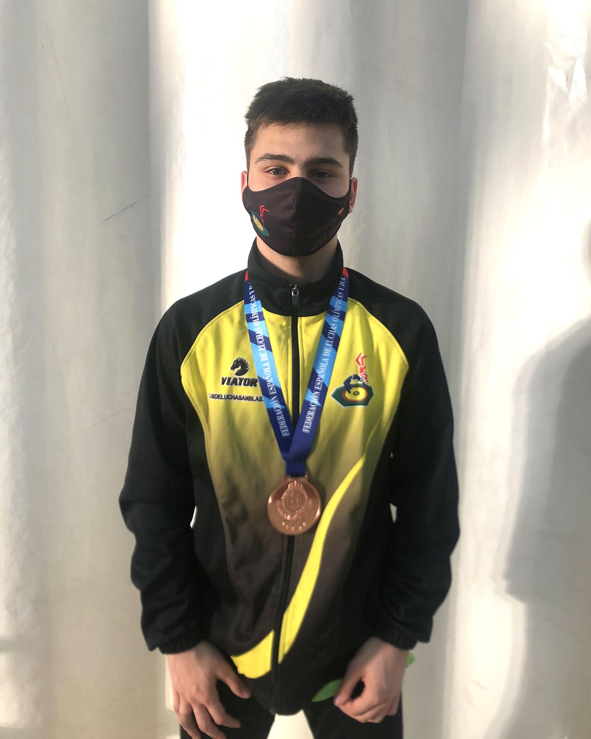 lucha Santiago Vallejo puesto campeonato de espana