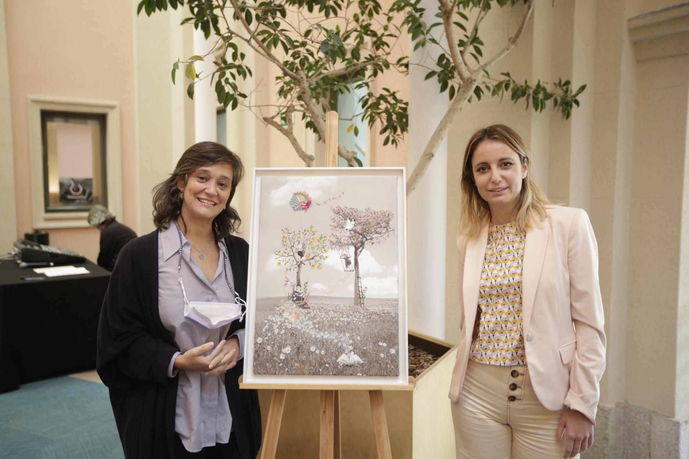 Beatriz de Torres y Andrea Levy